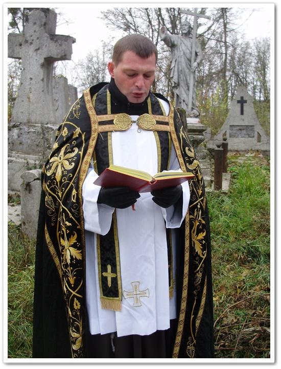Молебень за померлих