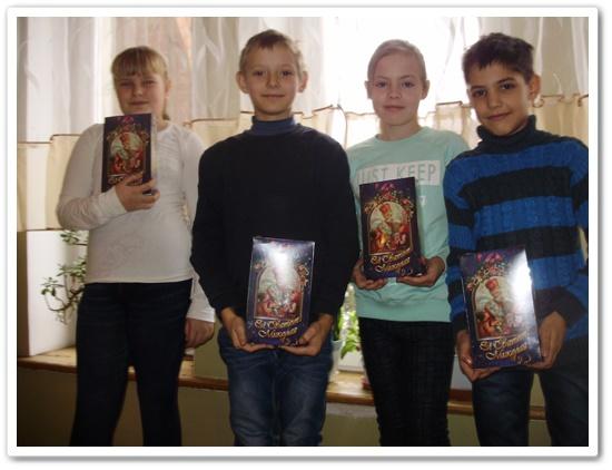 Святий Миколай завітав на катехезу до дітей в Ковелі.