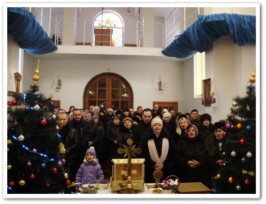 Святкування Різдва Христового у оо. Редемптористів в Ковелі.