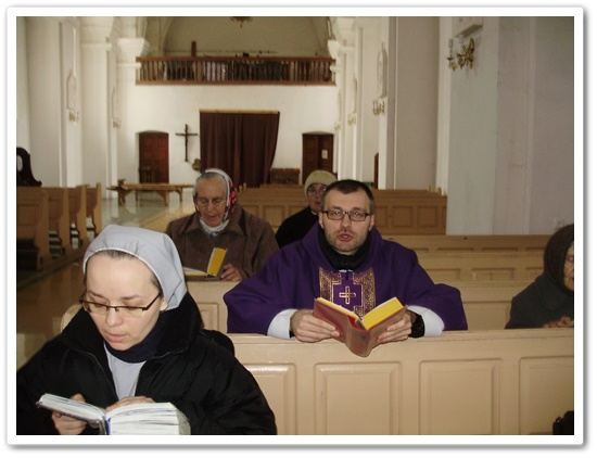 Великопостні реколекції в парафії св. Йосипа в Чечельнику