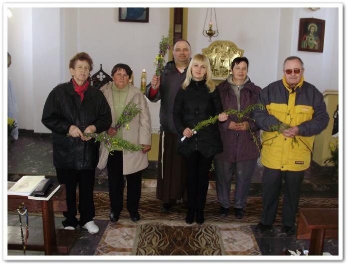 Вербна неділя. Парафія Св. Михаїла Архангела у Камені Каширському.