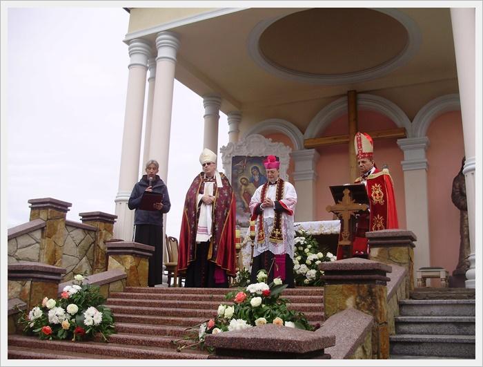 Проголошення санктуарія Страстей Христових в Шаргороді