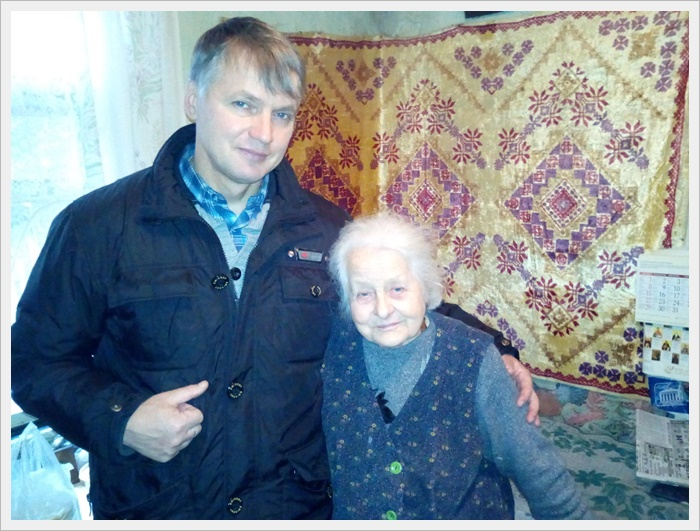 брат Полікарп Срілківський OFM та пані Міла