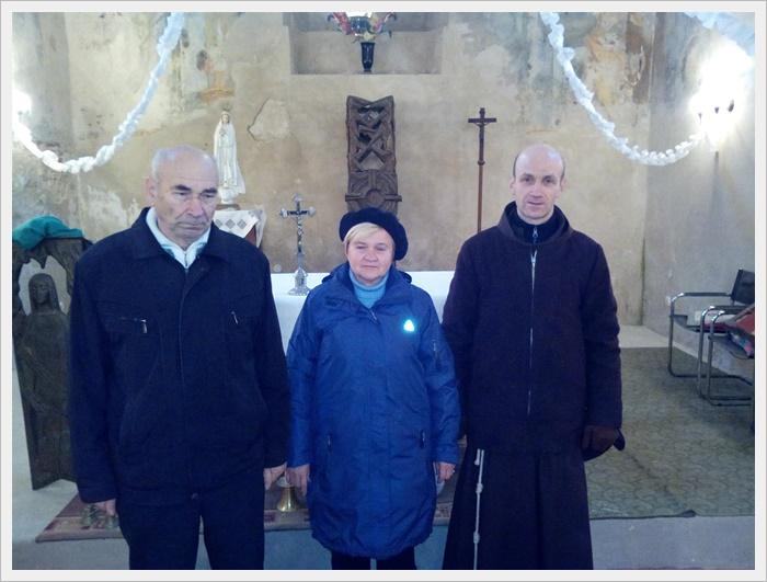 Брат Станіслав відвідав доїздову парафію в Голобах.