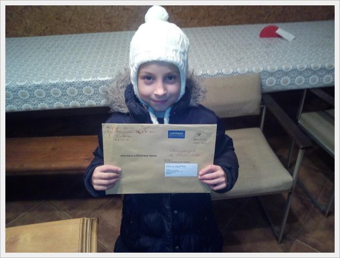 Діти вже написали свої листи до Св. Миколая. Чекають на подарунки.