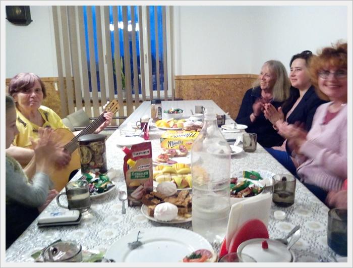 Святкова пасхальна вечеря
