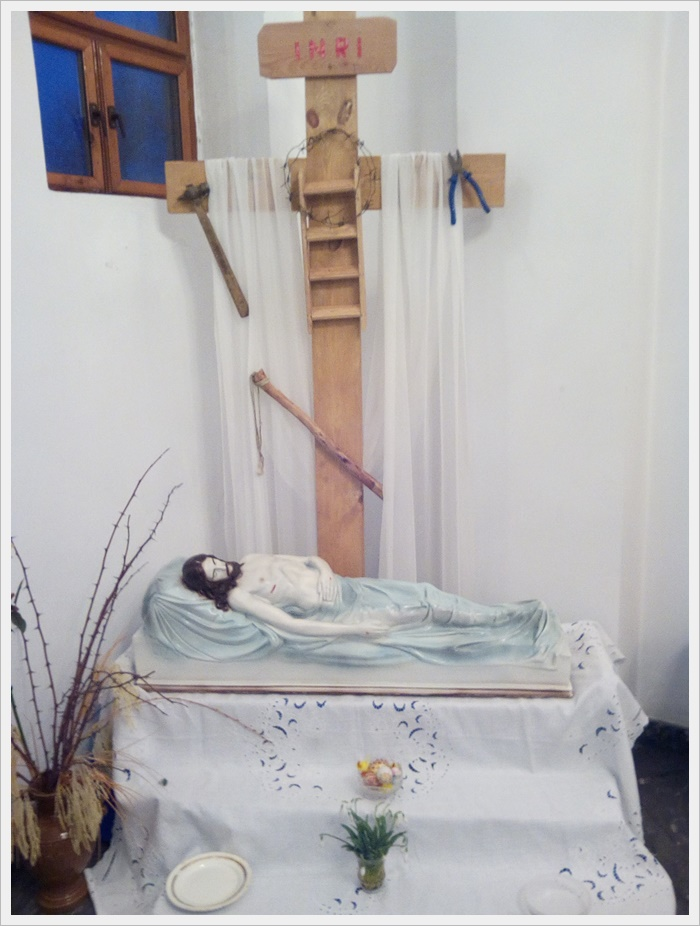 Велика Субота темниця і гріб Господні в Камені - Каширському
