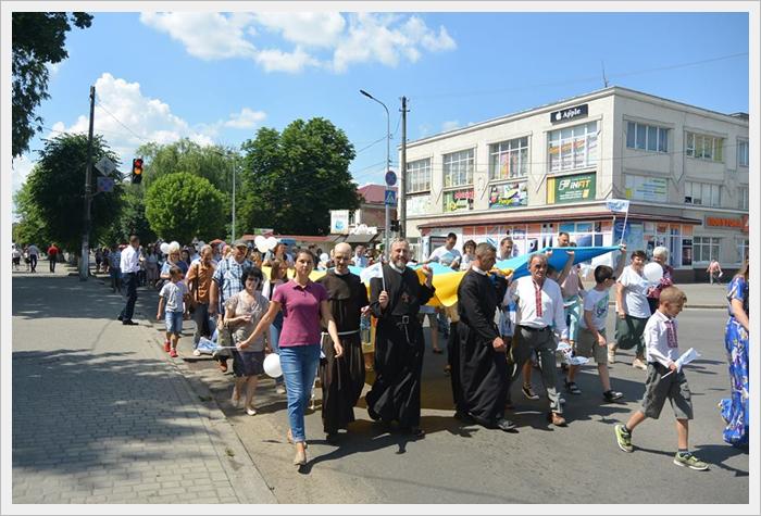 Всеукраїнська хода на захист прав дітей та сімей у Ковелі