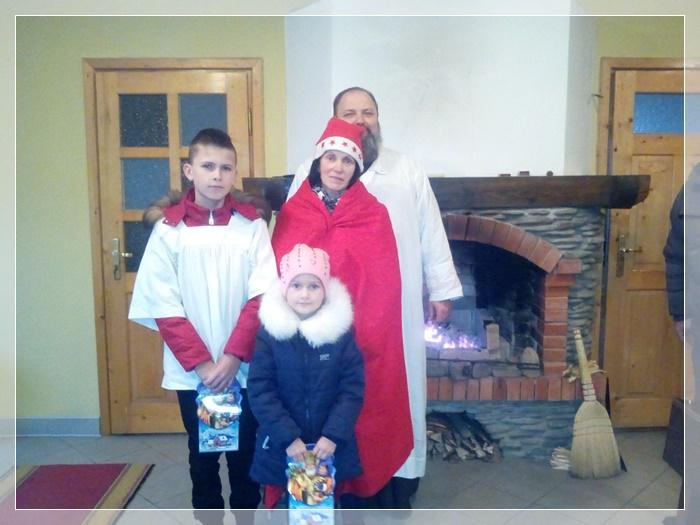 Св Миколай завітав до дітей в Камені Каширському.